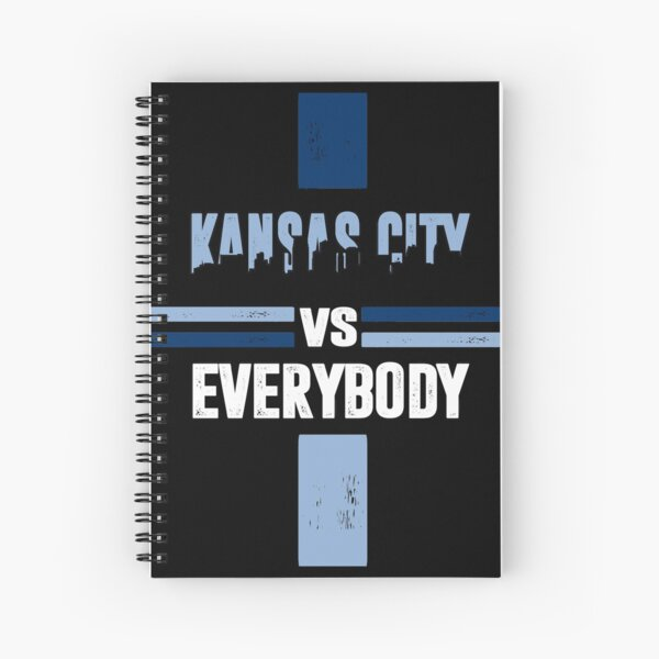 go Kansas City sports fans baseball Spiral Notebook