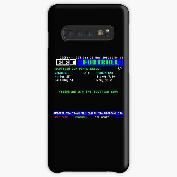 Hibernian Rangers 2016 Scottish Cup Final  Samsung Galaxy Snap Case