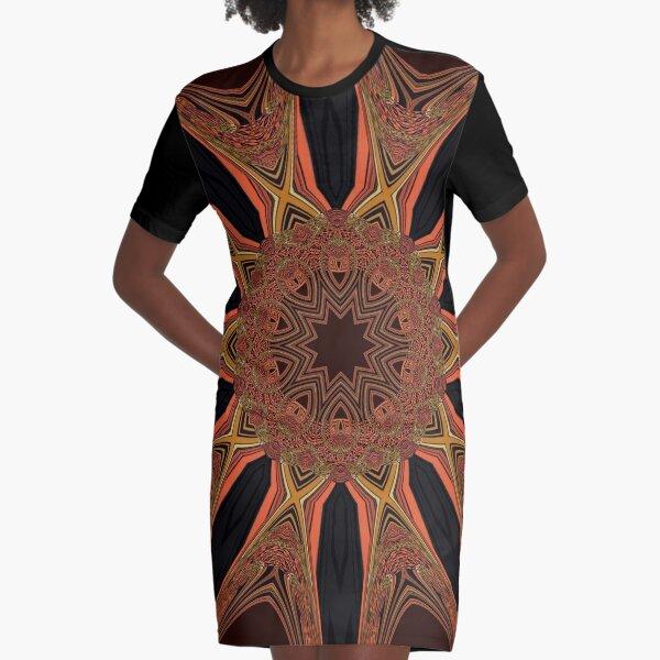Victorian Motifs ~3 Graphic T-Shirt Dress