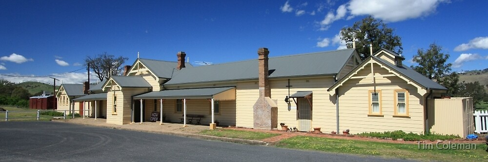 Gundagai Historic Railway Station by Tim Coleman