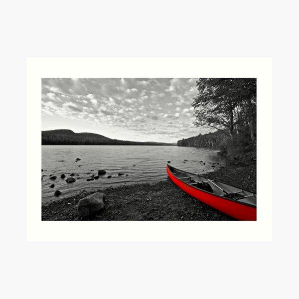 Thirteenth Lake Art Print