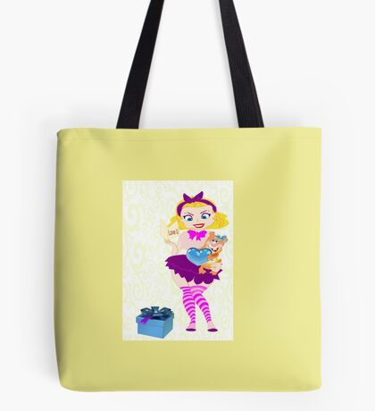 Lolita Valentine Doll (1856  Views) Tote Bag