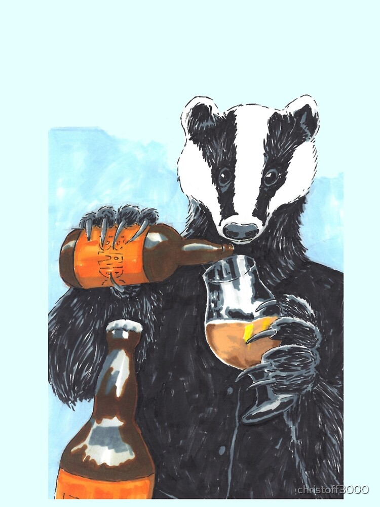 Craft Beer Badger by christoff3000