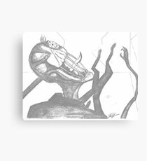 Slender Man  Canvas Print