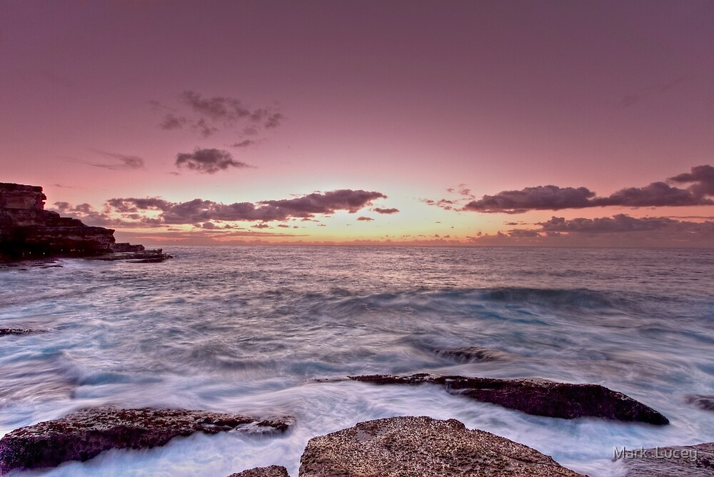 Little Bay Sunrise by Mark  Lucey