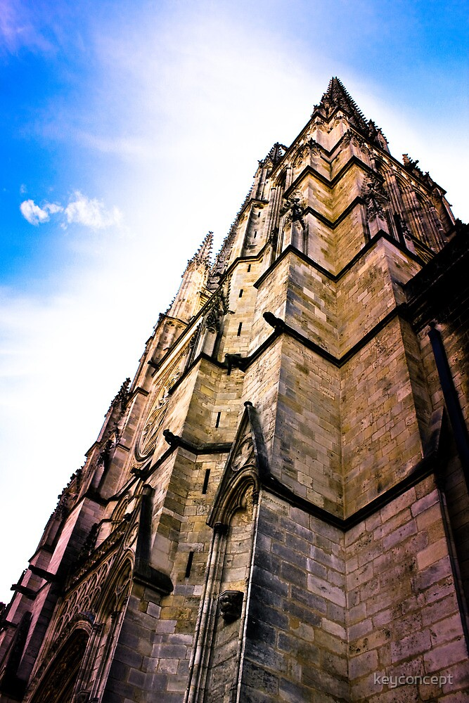 Cathedral Saint-André in Bordeaux by keyconcept