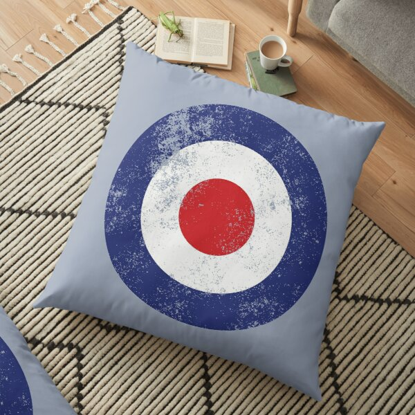 RAF Type D Roundel - Mod Target Logo Cojines de suelo