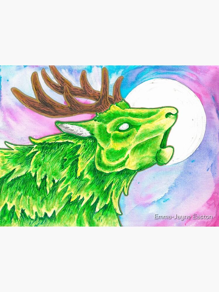 Earth Deer Spirit by urbanimal