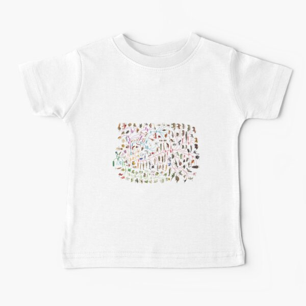 Tree of Animal Life - Evolution is change in the heritable characteristics of biological populations over successive generations Baby T-Shirt