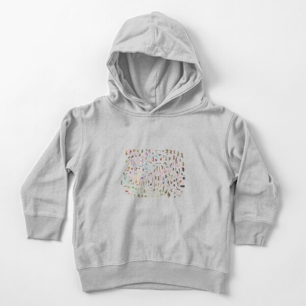 Tree of Animal Life - Evolution is change in the heritable characteristics of biological populations over successive generations Toddler Pullover Hoodie