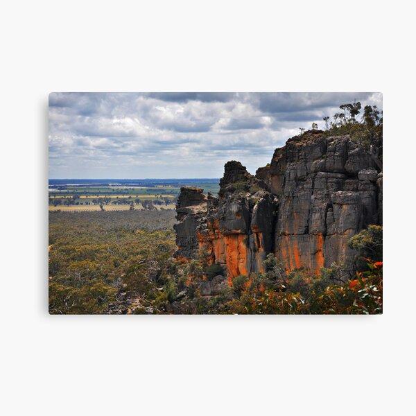 Red Rocks Canvas Print