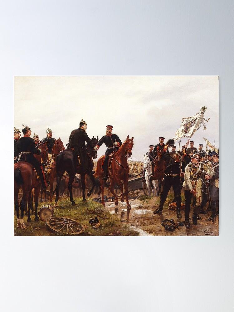 Alternate view of Battle of Königgrätz, 1866 ...Austro-Prussian War Poster