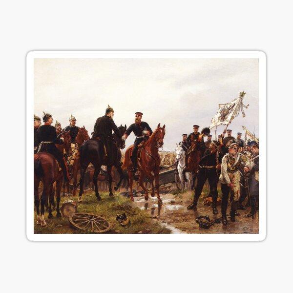 Battle of Königgrätz, 1866 ...Austro-Prussian War Sticker