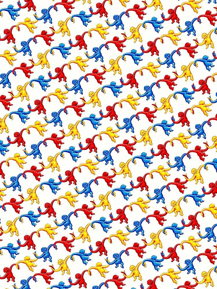 Barrel of Monkeys Pattern by KellyGilleran