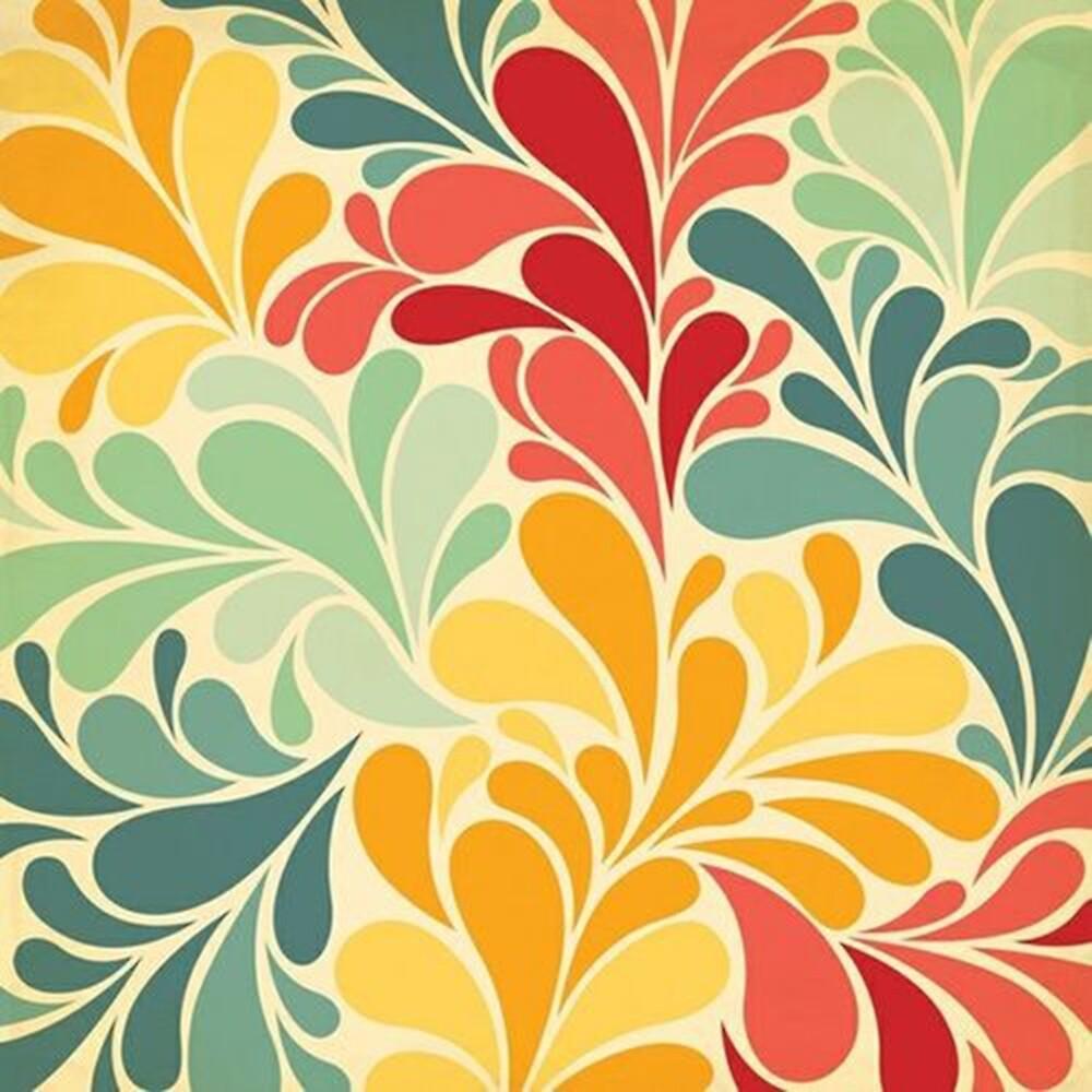 Color Splash Pattern\