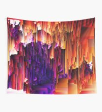 Fragmented Confusions Wall Tapestry