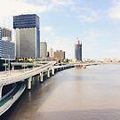 Along the Brisbane River by NinaJoan