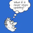 Ponder... Updates by Jokertoons