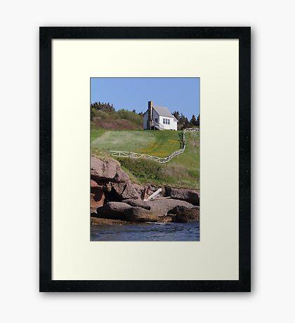 Isle Bonaventure Framed Print