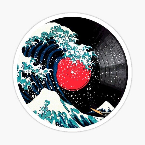 The Great Wave of Kanagawa - Vinyl Sticker