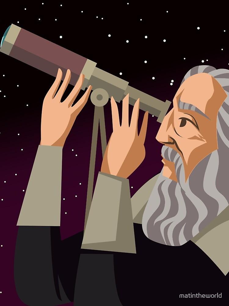 galileus watching the sky by matintheworld