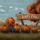 Happy Fall (Forever Halloween Collection) by Murielle Evers
