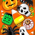 Halloween Spooky Candies Party by BluedarkArt