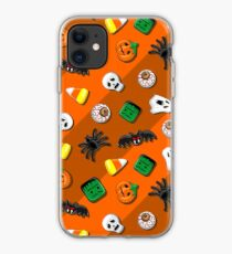 Halloween Spooky Candies Party iPhone Case