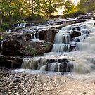 Shohola Falls # 3 by Debra Fedchin