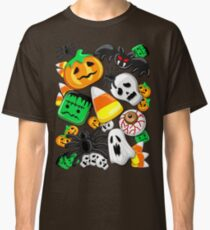 Halloween Spooky Candies Party Classic T-Shirt