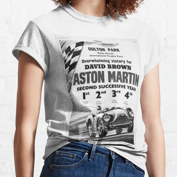The Autocar Aston Martin DBS3 race car advertisement from 1956 Classic T-Shirt
