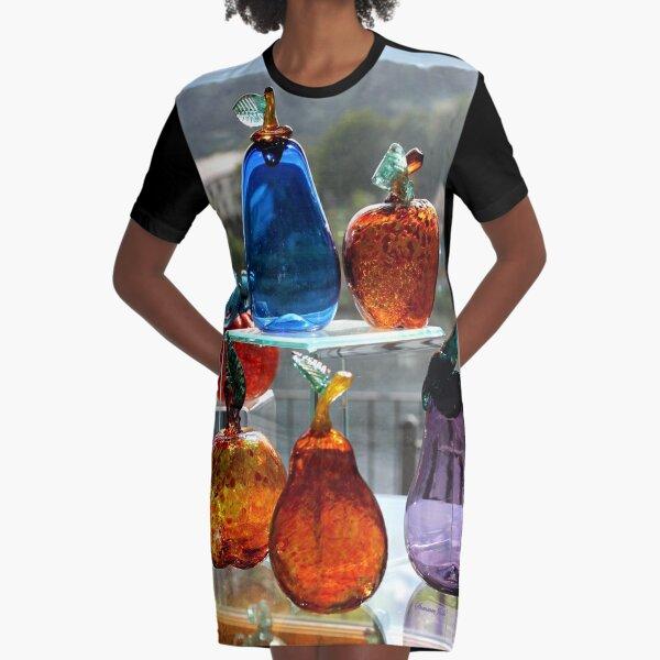 Window Glassware ~ Make Your Own Rainbow! Graphic T-Shirt Dress