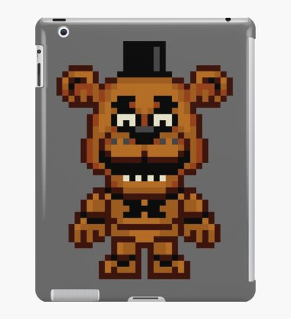 Five Nights at Freddy's - Freddy Fazbear Mini Pixel iPad Case/Skin