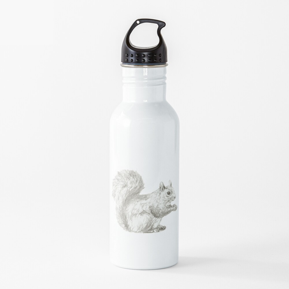 Resting Squirrel Water Bottle