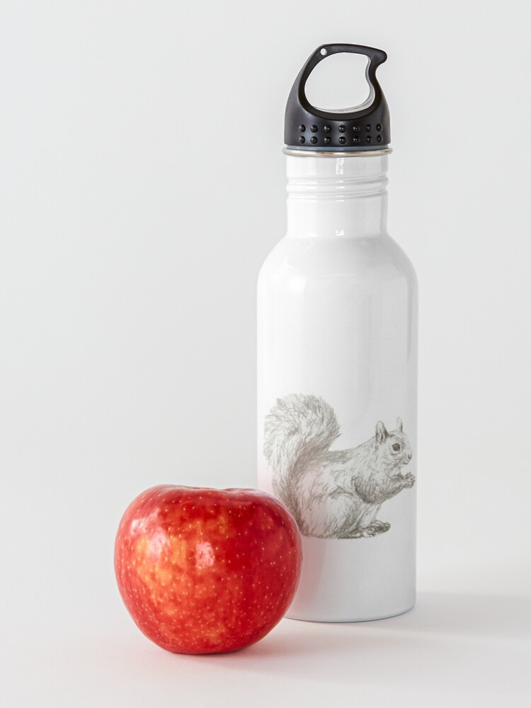 Alternate view of Resting Squirrel Water Bottle