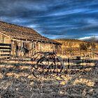 Historic Sandstone Ranch Barn by Timothy S Price