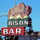 Miles City, Montana - Bison Bar by Frank Romeo