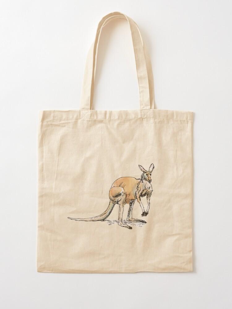 Alternate view of Kangaroo-in-waiting Tote Bag