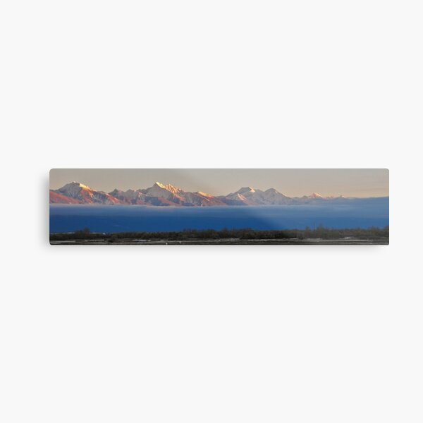 Mission Valley Inversion Metal Print