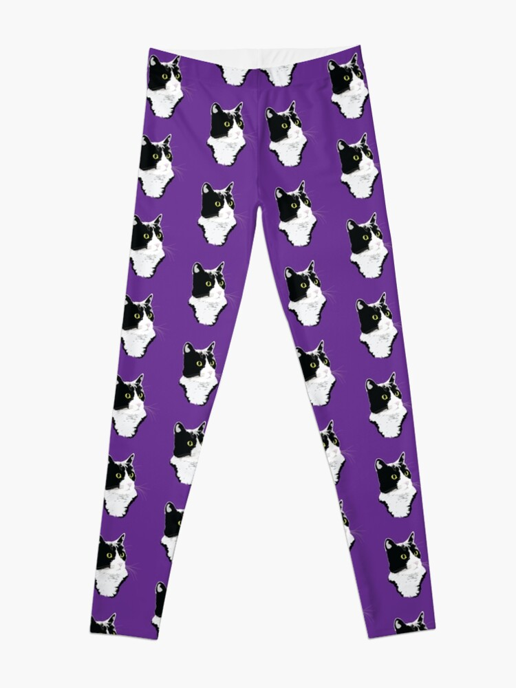 Alternate view of Regal Tuxedo Kitty Leggings