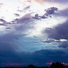 Colorado Clouds of Blue by Linda Storm