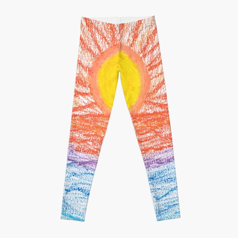 Merch #28 -- Sea Sunset Leggings