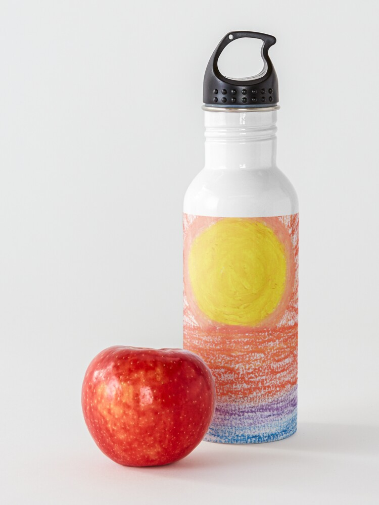 Alternate view of Merch #28 -- Sea Sunset Water Bottle