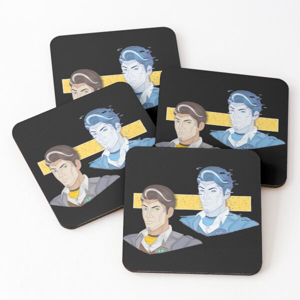 Hadsome Jack Coasters (Set of 4)