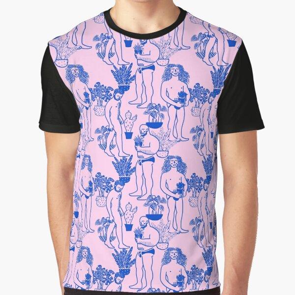 Boys & Plants (Pink version) Graphic T-Shirt