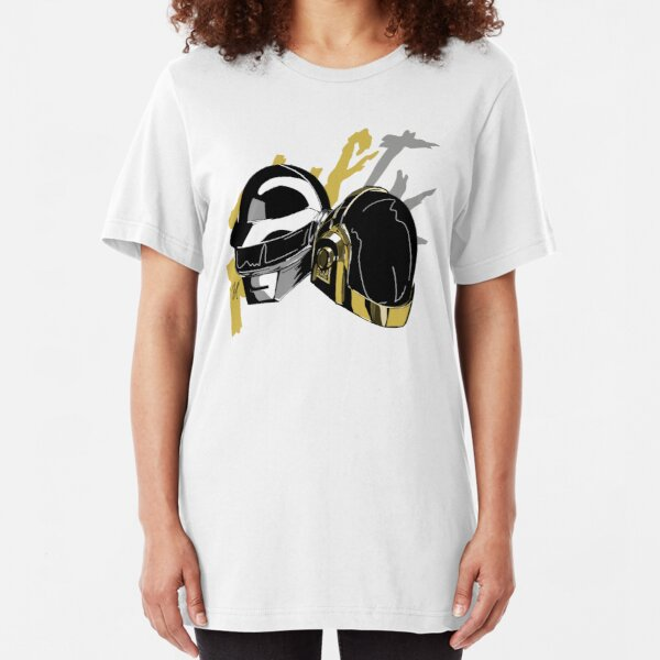 Daft Punk Slim Fit T-Shirt