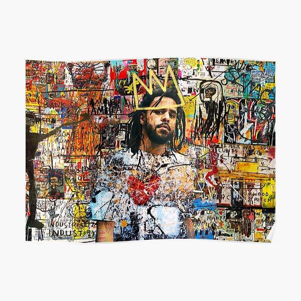 J Cole Portrait Poster