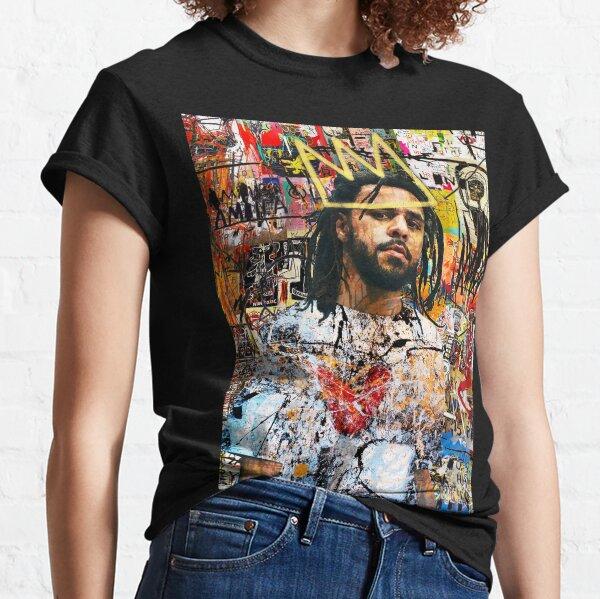 J Cole Portrait Classic T-Shirt