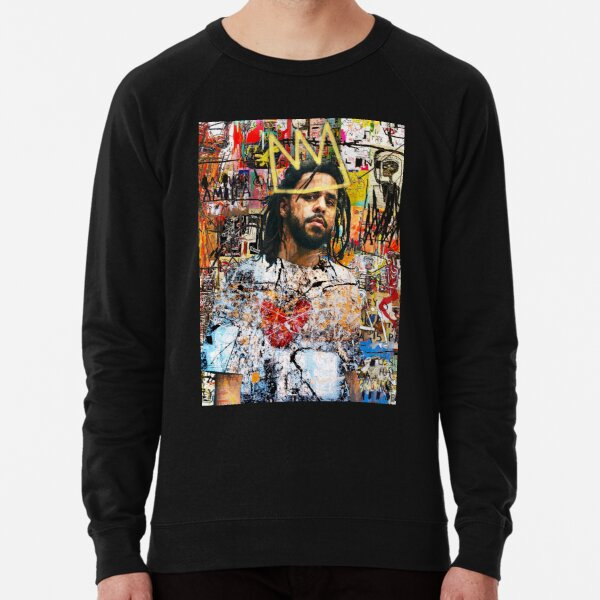 J Cole Portrait Lightweight Sweatshirt