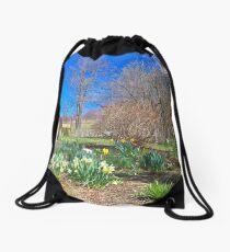 Spring enters the Greene Drawstring Bag